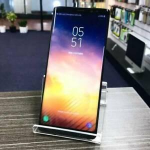 Galaxy Note 8 64G Black MINT CONDITION AU MODEL INVOICE WARRANTY