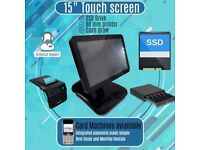 15inch Single Screen All in One System