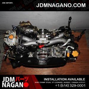 JDM 02-05 Subaru Impreza WRX EJ205 2.0L DOHC Turbo Engine EJ20