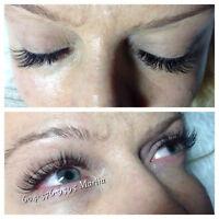 European Eyelash Extensions and Volume Lashes