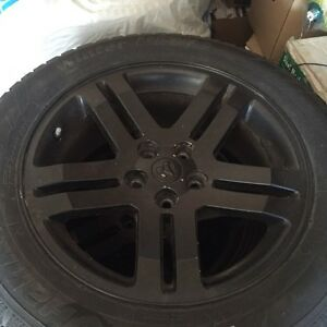 Dodge Charger oem rim and tire