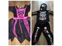 Boys Halloween Costume Size 3-5 Years Old & Girls Halloween Costume Size 2-4 Years Old
