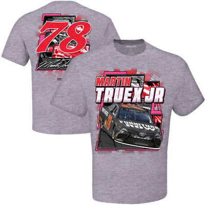 Martin Truex Jr 2017 Cfs  78 Furniture Row Breast Cancer Awareness Tee Free Ship