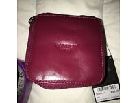 Osprey leather trinket box