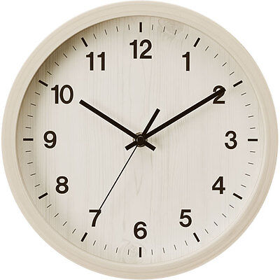 """From Japan Nitori Wall Clock Smart 2 (WH Face) """"Code: 8172555"""" / Tracking SAL"""