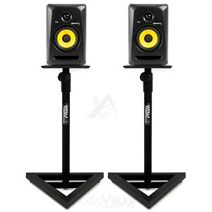 Studio Monitor Stands - Gorilla GSM-100 Adjustable Hi-Fi / Studio Speaker Stands