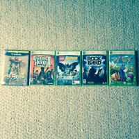 Xbox 360 games and GameCube game 30$ each