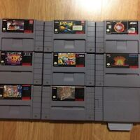 Snes, NES , ds games  for sale