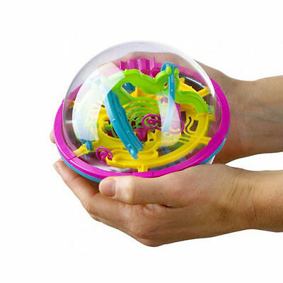 100 Barriers 3D Magic Intellect Large Ball Balance Maze Game Puzzle Kids Toy New