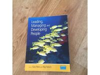 Leading, managing and developing people - 4th edition