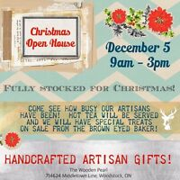 The Wooden Pearl Christmas Open House