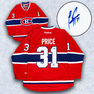 Carey Price Montreal Canadiens Autographed Reebok Premier Hockey