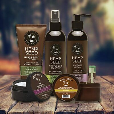 Earthly Body Hemp Seed  Natural and 100% Vegan Hand & Body Daily Moisturizers.  Earthly Body Moisturizing Moisturizer
