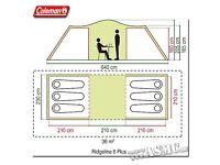 *brand new* Coleman Ridgeline 6man tent
