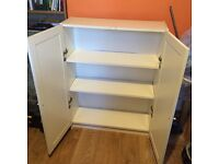 IKEA Low Billy bookcase with doors