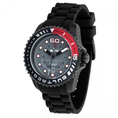 Bultaco Watch RRP £119! -  Reloj Speedcity 45 SoloT Black Bordeaux