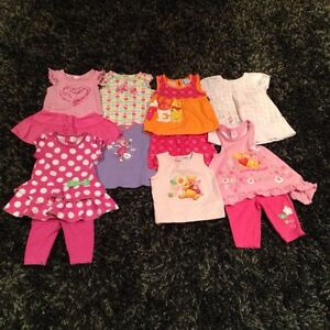 Baby Girls Size 6 Months & 6-12 Months Lot