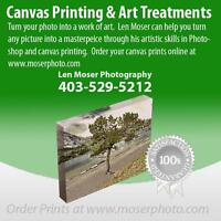 Canvas Printing Medicine Hat