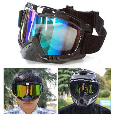 Motocross Motorcycle ATV Dirt Bike Off-Road Adult Safety Goggles Glasses Eyewear