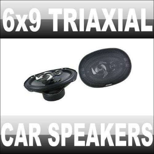6X9 TRIAXIAL CAR AUDIO SPEAKERS 450 W WATTS VAN NEW
