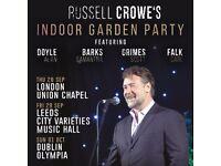 Russell Crowe's Indoor Garden Party VIP Ticket