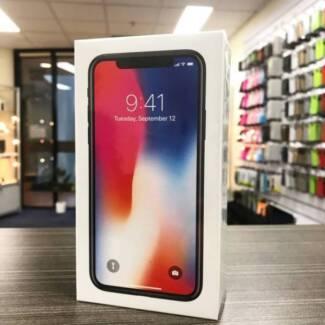 Brand new sealed iPhone X Space Grey 256G UNLOCKED AU MODEL