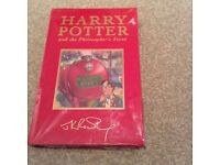 First Edition Harry Potter and the Philosophers Stone.