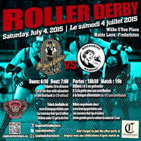 Hell on Wheels! Daisy Cutters vs Moonshone Maidens -Roller Derby