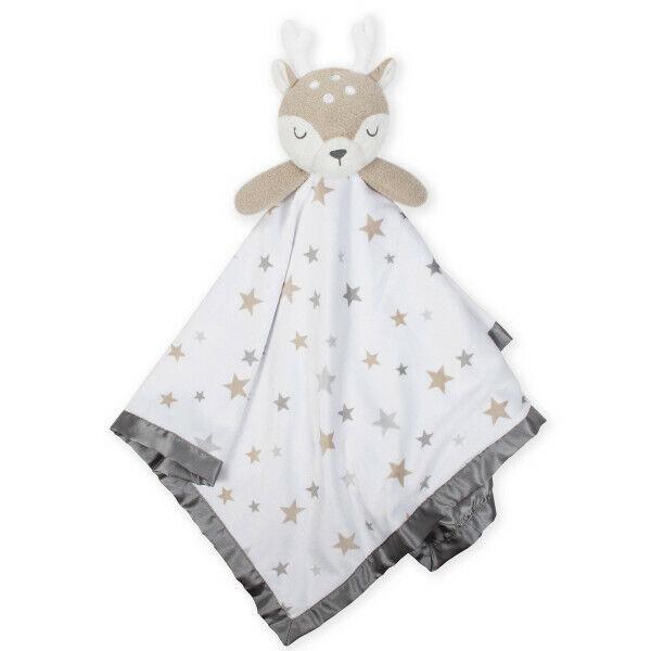 Just Born Baby XL Security Blanket, Baby Deer, 25 x 25