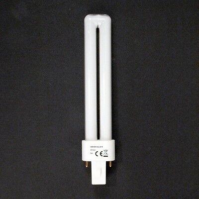 Osram DULUX S 9 W/840 Lumilux Cool White G23 Kll Fluorescente Lampada G 23, usado comprar usado  Enviando para Brazil