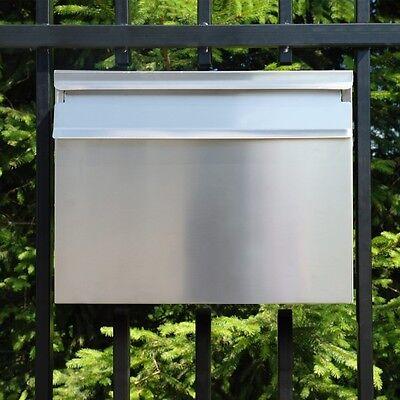 Modern Groß Zaunbriefkasten Einbau Briefkasten