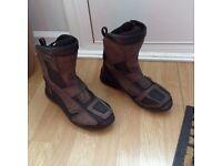 Motorbike boots size 8