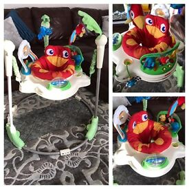 Fisher price Rainforest Jumperoo/Baby Bouncer