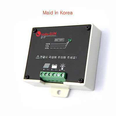 Solar charge controller for lithium battery