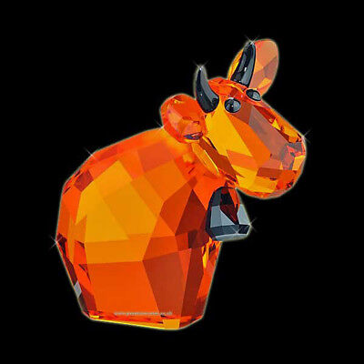 New Swarovski Crystal LovLots Halloween Mo Cow Retired NIB](Halloween Mo)