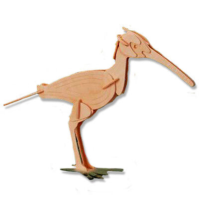 3-D Wooden Puzzle - Small Curlew - Gift Item