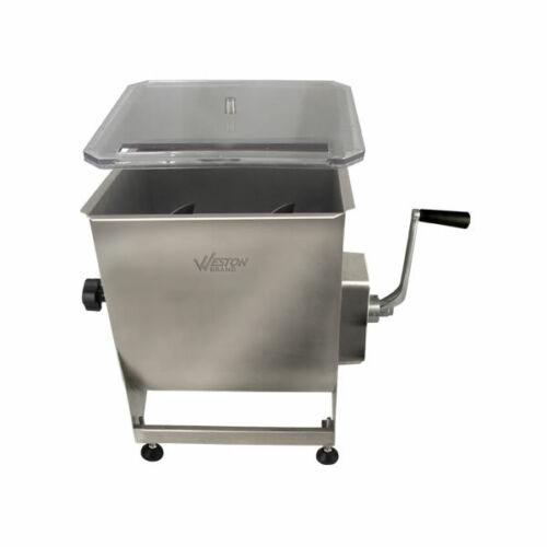 Weston Stainless Steel 44Lb Meat Mixer, Model# 36-2001-W