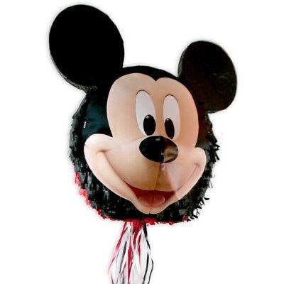 Mickey Maus Zug-Pinata als Spiel zum Micky Maus Kindergeburtstag Junge, Mädchen (Mickey Pinata)