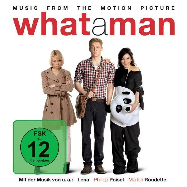 WHAT A MAN CD+DVD DELUXE EDT SOUNDTRACK NEU