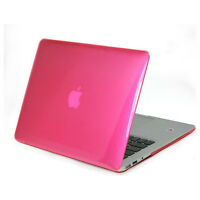"MacBook AIR 11"" Clear Hard Shell Case BLACK,or PINK NEW"