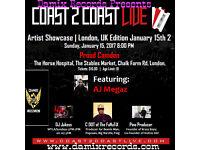Hit Love Songs by AJ Megaz Live in London Concert