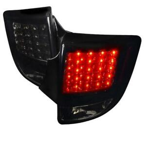 2000-2005 TOYOTA CELICA Led Tail Lights Glossy Black Housing With Smoke Lens
