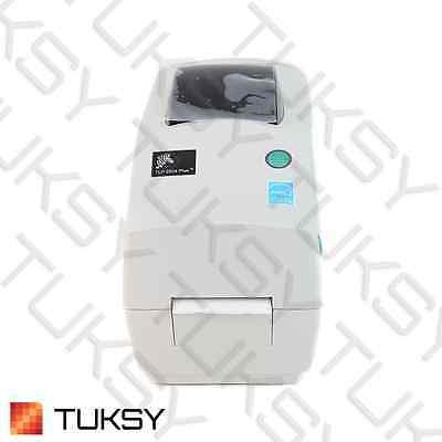 NEW Zebra TLP 2824 Plus DT/TT Thermal USB Serial Label Printer (282P-101110-000)