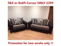 WOW! Brand New DQF 3&2 or Corner ONLY £399