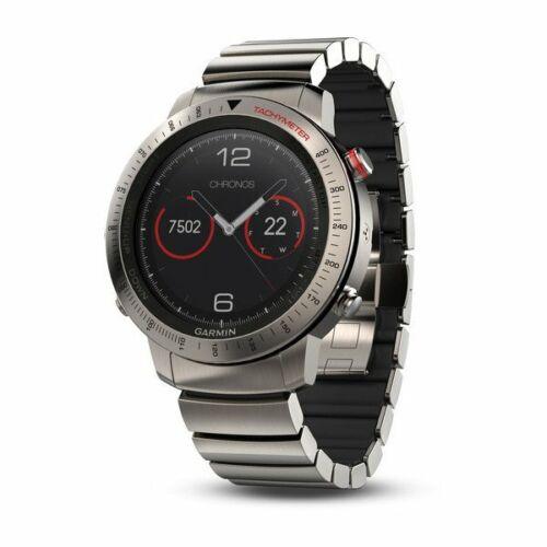 Garmin fnix Chronos Smartwatch 49mm Titanium with Titanium Hybrid Band 010-01957-01