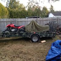 2010 14x5 double drive on atv trailer