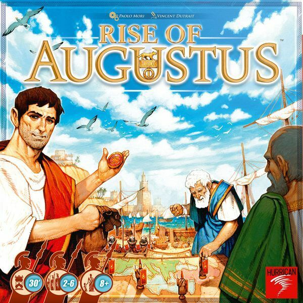 Rise of Augustus Board Game New In Hand