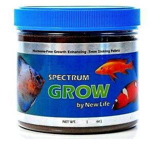 New life spectrum grow formula 75g sinking high for New life spectrum fish food