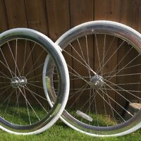 Set de roues pour fixie , fix gear, single speed neuf