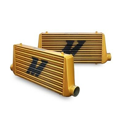 Mishimoto Universal Intercooler M Line Eat Sleep Race Edition All Gold